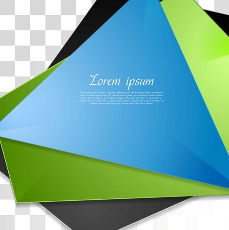 Abstract tech corporate background. Vector design Vector