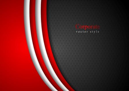 Abstracte donkere zakelijke achtergrond Vector Illustratie