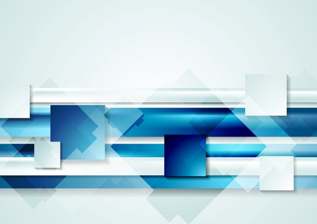 Abstract shiny hi-tech vector background Ilustrace