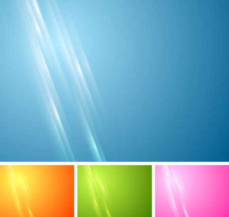 vibrant background: Tech vibrant abstract background. Vector design template