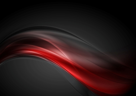 Dark red glow waves background.
