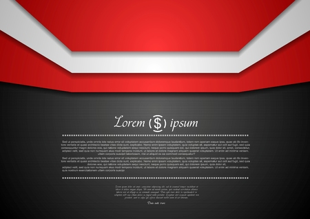 Abstract corporate design background Vector