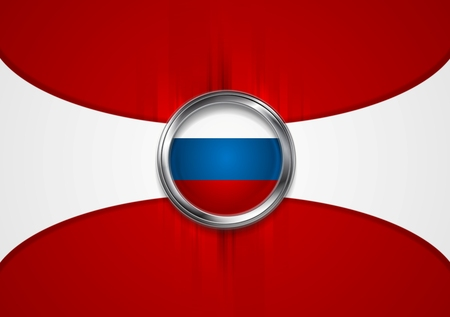 federation: Russian Federation background. Vector design Illustration