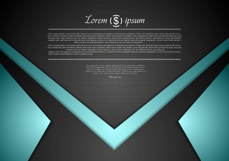 Vibrant corporate abstract background. Vector design Vector