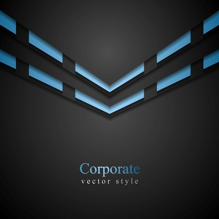 vibrant background: Vibrant corporate abstract background. Vector design Illustration