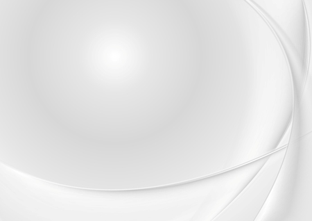 Abstract grey pearl waves. Vector background
