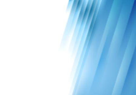 Konzeptionelle blaue Streifen abstrakten Hintergrund. Vector design Vektorgrafik