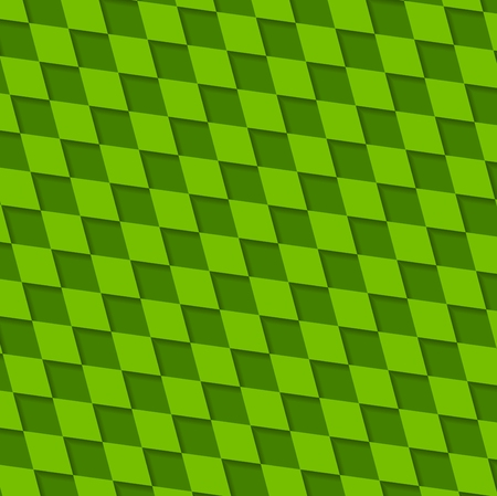 colorful stripes: Abstract green squares pattern. Vector design