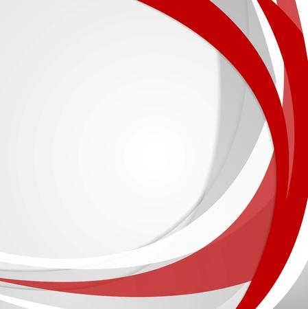 Résumé fond rouge ondulée entreprise. Vector design Vecteurs