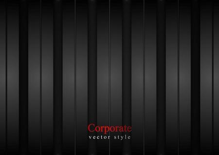 暗い縞企業背景。ベクトルのデザイン