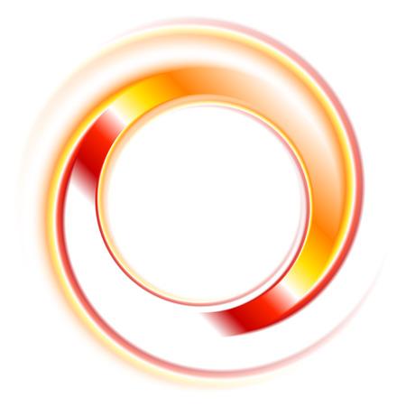 抽象的なサークル アイコンの背景。ベクター デザイン