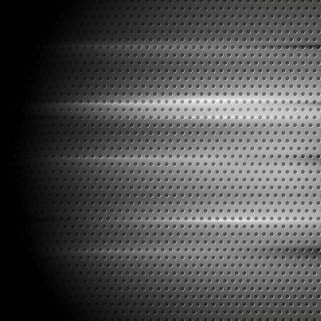 perforated: Tech perforated metal background. Vector design Illustration