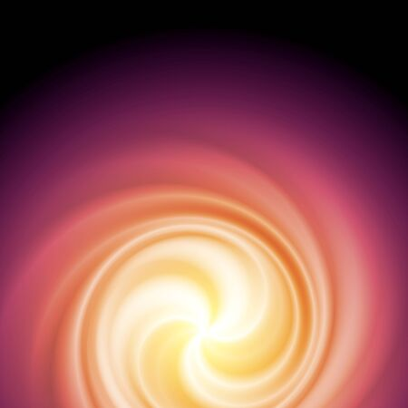 Colorful smooth blurred waves. Swirl vector background