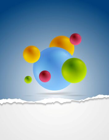 Abstract corporate background. Vector design