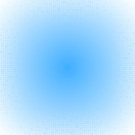 square background: Tech blue art background. Vector illustration