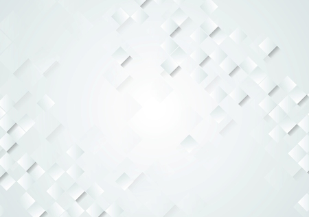 Light grey tech abstract background.