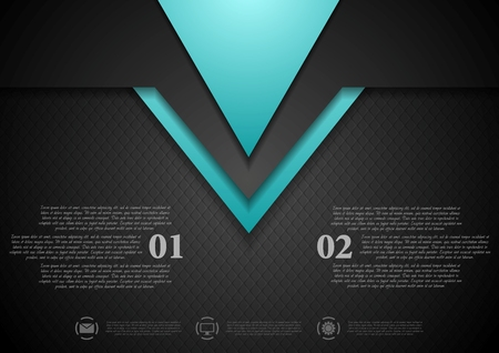 Abstract tech corporate art background. Vector design Vector