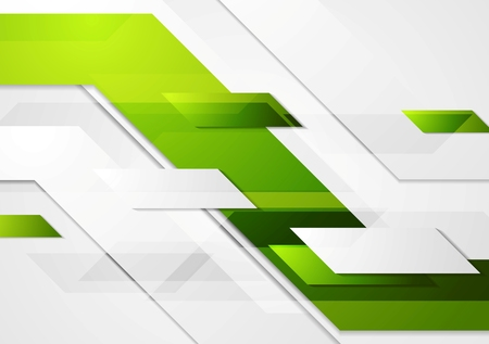 green banner: Green tech corporate motion background.