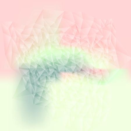 Les couleurs pastel abstraite de fond tech. Vector design
