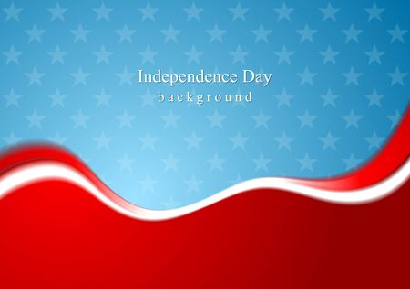 red and blue: Abstract USA colors background. Vector design