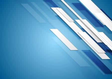 motion: Blue shiny hi-tech motion background. Vector design Illustration