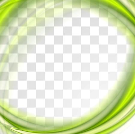 Zusammenfassung helle grüne Wellen-Design.