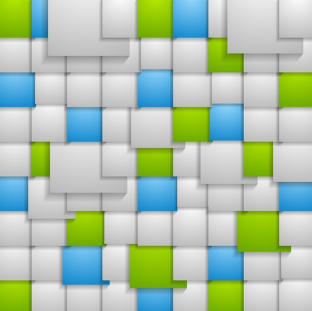 squares background: Abstract squares background. Vector design