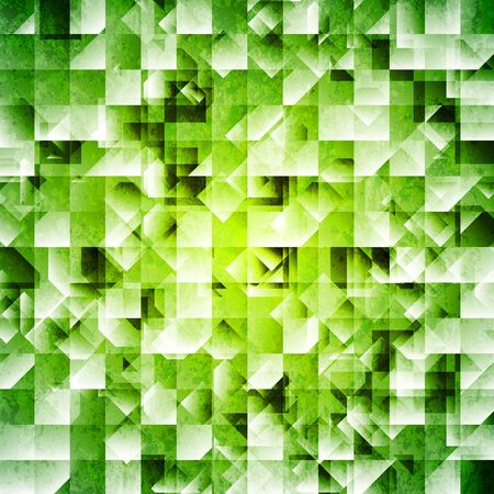 iridescent: Tech green iridescent background.  Illustration