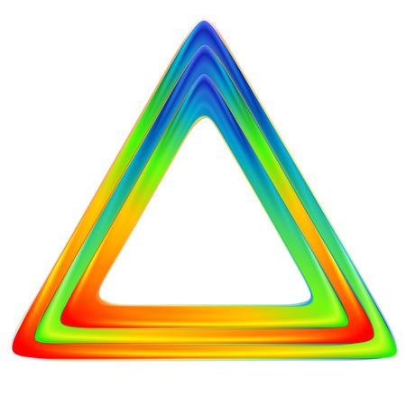 brillante: Triangolo luminoso.