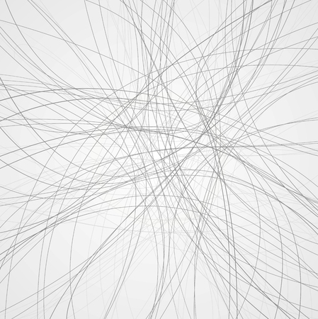 Abstract grey lines background. Vector design
