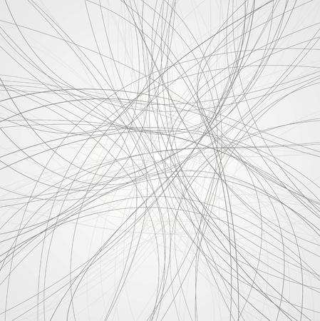 Abstracte grijze lijnen achtergrond. vector design