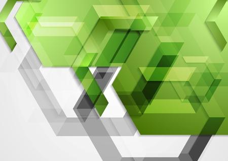 Groene glanzende hi-tech geometrische achtergrond. Vector ontwerp