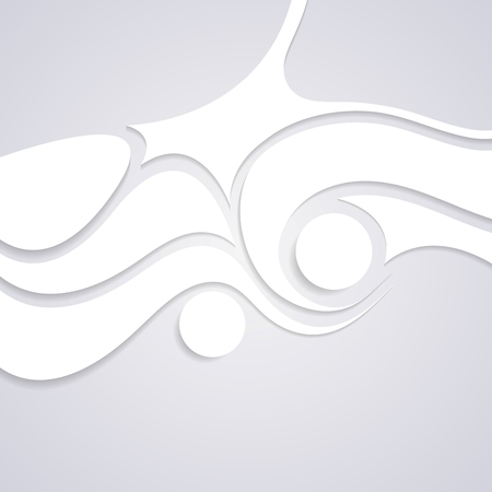 Wavy corporate swirl pattern design. Vector background