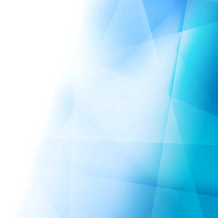 Bright abstract blue elegant background. Vector template