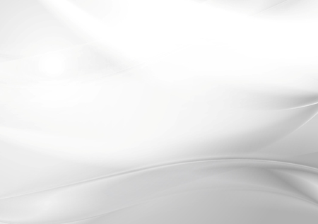 Abstrakt szary perła gładkie fale. Wektor sztuka tło