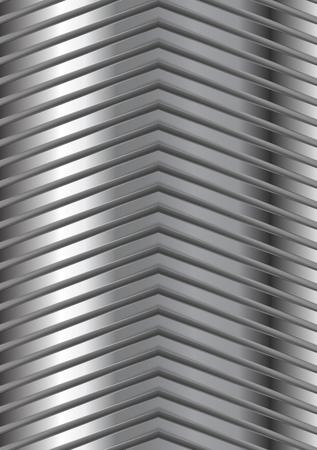metallic background: Abstract metallic arrows design. Vector background