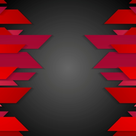 poster concepts: Dark red corporate abstract tech background. Vector design Illustration