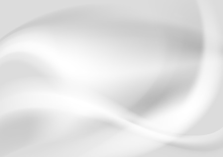 Grey pearl abstract elegant waves design. Vector background