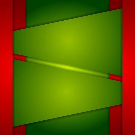 red' green: Red green abstract corporate background. Vector design