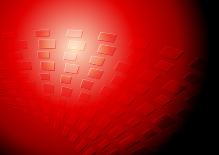 red abstract: Dark red tech background. Vector design