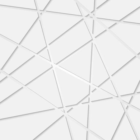 抽象的なハイテク企業の幾何学模様。ベクター デザイン