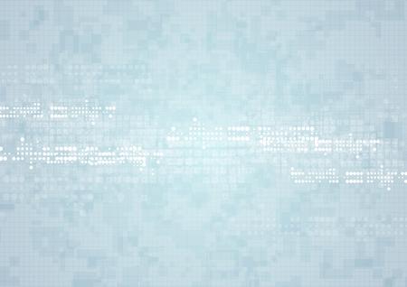 Abstract light technical geometric background. Vector design Vettoriali