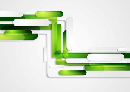 Résumé vert géométrique fond technologie d'entreprise. Vector design Banque d'images - 43089920