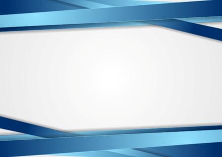 추상: 파란색 줄무늬 기술 추상적 인 배경입니다. 벡터 디자인 일러스트