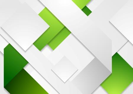 light green: Corporate tech vector white green background. Vector design
