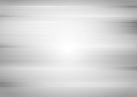 Abstract grey tech grunge stripes background. Vector gradient design