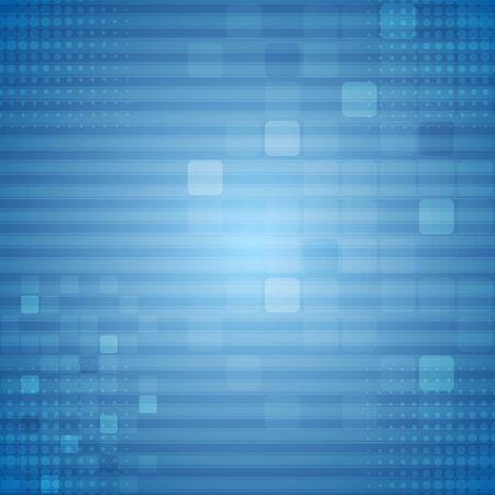 striped background: Bright blue technical background. Vector geometric design Illustration