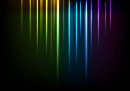 iridescent: Shiny neon iridescent light background. Vector design Illustration