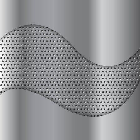 perforated: Abstract perforated metal texture vector design