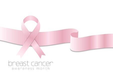 breast: Breast cancer awareness month vector abstract background